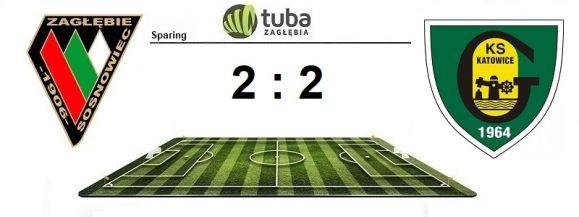 """⚽Remis z """"GieKSą"""" w przedostatnim sparingu⚽Zagłębie Sosnowiec – GKS Katowice 2:2 (1:1)⚽"""