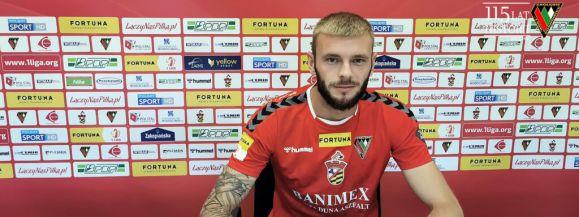 Zagłębie Sosnowiec poinformowało o pozyskaniu kolejnego zawodnika którym jest obrońca Wojciech Jończy⚽