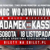 Gala boksu zawodowego: Adamek vs Kassi -Noc Wojowników